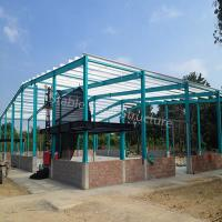 Wholesale Steel Structure Building Fabricate Warehouse with high standard quality from china suppliers