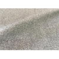 Buy cheap Customized Mid - Grey Wool Suiting Fabric Anti Static Environment Friendly from Wholesalers