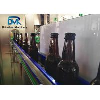 China Fully Automatic Glass Bottle Filling Machine  Sus304 High Accrurate Filling on sale