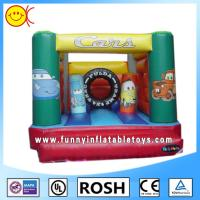 Wholesale The Cars 180Z PVC Children Inflatable Combo Bouncers With Obstacles from china suppliers