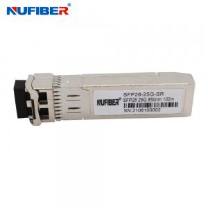 Wholesale Multimode 850nm 100M 25G SFP28 Transceiver For Huawei Cisco HP from china suppliers
