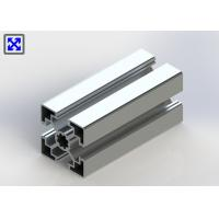 China Lighter Type 45 * 45 T Slot Channel Aluminum , Aluminium T Slot Channel 10.2mm Hole on sale