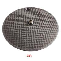 Wholesale Front Rear Carbon Disk Wheel 700C Fixed Gear TT Bike 18K Matte Finishing from china suppliers
