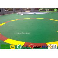 Buy cheap Custom Colored Acrylic Sports Flooring / High Elasticity Sport Court Flooring from wholesalers
