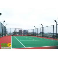 Buy cheap Durable 8mm Cusion Sport Court Surface PU Painting Corrosion Resistant Surfacing from wholesalers