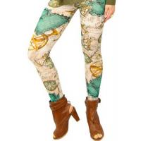 Wholesale Colorful Patterned Pure Cotton Tights , Women / Ladies 100 Cotton Tights from china suppliers