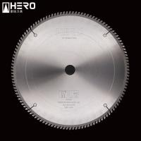 China High Strength Aluminum Cutting Circular Saw Blade Straight Running Non Rust on sale