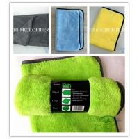 Wholesale 300gsm Microfiber coral fleece car care cloth car window cleaning towel super absorbent from china suppliers