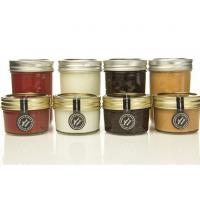Wholesale Gift 100ml Transparent Glass Storage Jars With Lids For Honey Jam Spicy from china suppliers