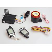 China Universal Motorcycle Anti Theft Car Security System Two Way  Remote Control Engine Kit on sale