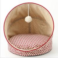 Wholesale Multicolored four seasons pet dog cat bed house soft dog nest from china suppliers