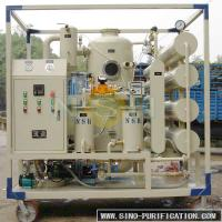 Wholesale Double Stage Vacuum Oil Filter Machine Dehydrator Water Gas Impurities Removal from china suppliers