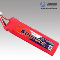Buy cheap 11.1V6000mAh High Rate Discharge Lipo Battery Pack, Jump Start Battery, R/C Battery from Wholesalers
