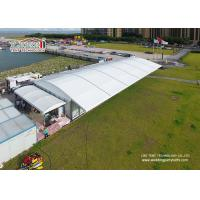 China 500 People Luxury Wedding Tents 10x40m Aluminum PVC Marquee with Dome Top and Glass Sides on sale