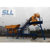 Wholesale High Productivity Portable Concrete Mixer Batching Plants Mobile Low Noise from china suppliers