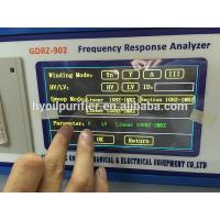 Wholesale GDRZ-902 Transformer SFRA Sweep Frequency Response Analyzer Tester from china suppliers