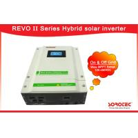 Buy cheap 120-450VDC MPPT Range Hybrid Solar Inverter Language And Time Setting from wholesalers