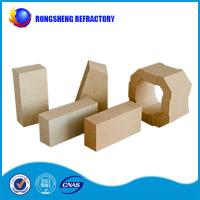 Buy cheap 2.75G / cm3 Low Creep  80% AL2O3 High Alumina Refractory Brick to Blast Furnace from Wholesalers
