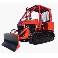 Wholesale EPA 35HP Mini Bulldozer Agricultural Crawler Tractor With Blade For Sale from china suppliers