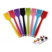 Buy cheap LFGB Silicone Barbecue Brush Non - Stick Heat Resistance With Customized Color from wholesalers