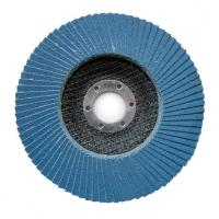 China 100*16 115*22 125*22 150*22 180*22  MM zirconia flap disc with T27/T29 fiberglass or plastic backing on sale