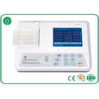 Buy cheap Manual / Auto Modes 3 Channel ECG Machine With USB / RS232 Interface from Wholesalers