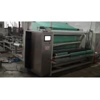 Large High Speed Non Woven Fabric Cutting Machine With Circular Knife Cutting