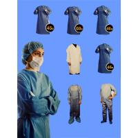 Wholesale Surgical gown which manufactured from high quanlity SMS/PP,using latest tools and machines,ultrasonic sealed from china suppliers