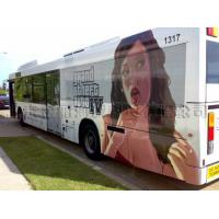 China Bus Stickers , Vinyl Advertising Outdoor Banner Printing on sale