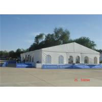 Wholesale Aluminum Alloy Large Wedding Tent  , PVC Party Tent 20 X 80m 75kg / Sqm Snow Load from china suppliers
