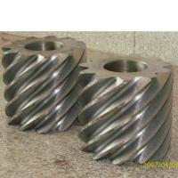 Wholesale High Precision Galvanized Worm Gear Design from china suppliers