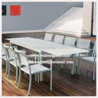 Buy cheap Tempered Table Top Glass with Different Color and Size from Wholesalers