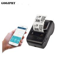 China Portable 58mm thermal barcode  printer bluetooth label sticker printer on sale