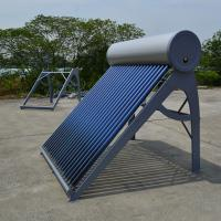 Color steel thermosiphonic gravity solar energy water heater 200L CE approved