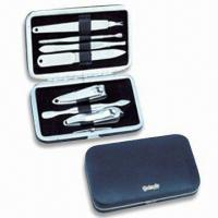 Wholesale Stainless Steel Manicure Set, OEM Orders are Welcome, Ideal for Travelling and Promotional Gifts from china suppliers