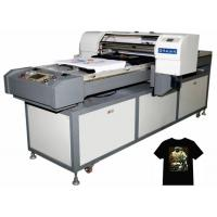 Wholesale small 3D t-shirt printer for Leather, silk, polyester, cotton, chiffon, canvas from china suppliers