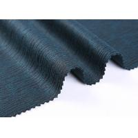 Woven Fully Jacquard Wool Knit Fabric For Sweater Anti - Dusk , Breathable