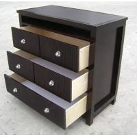 Wholesale American Style Bedroom 3 Drawer Dresser HPL Top Oak / Walnut Wood from china suppliers