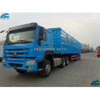 China New White Color Sino Howo Prime Mover Truck 420hp Euro 2 Emission Hw76 Cabin on sale