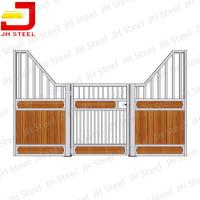 Wholesale Professional Galvanized Metal Horse Stalls / Stable For Horse Shed Shelter from china suppliers