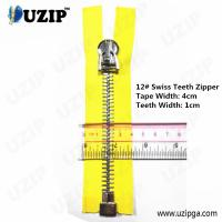Wholesale Dark Anti Sliver No.12 Heavy Weight Metal Separating Zipper Big from china suppliers