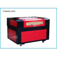 China Nonmetal Glass CO2 Laser Engraving Cutting Machine With RECI Tube Stepper Motor on sale
