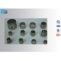 0.5 Mm Thickness Nickel Lamp Holder , Durable Electrical Safety Equipment