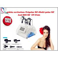 Wholesale 40khz cavitation+Tripolar RF+Multi polar RF and BIO RF slimming machine, EV-F020 from china suppliers