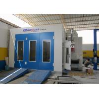 8M Downdraft Standard Paint Booth Color Optional With Stainless Steel Heat Exchanger
