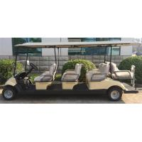 Buy cheap 8 Seater Electrical Golf Carts With KDS Motor , Club Battery Powered Golf Cart from Wholesalers