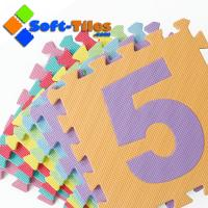 Eco-friendly 123 number Alphabet Mat 10pcs/set