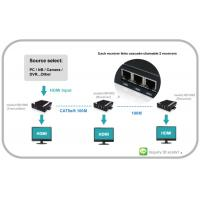 Wholesale VGA Video Extender with Audio can chian able HDMI and RS232 and IR from china suppliers