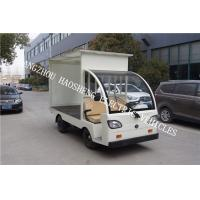 Buy cheap 48V Electric Utility Vehicle Semi Convertible Cab Flexible Sterring With Cover from Wholesalers