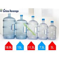 China 5 Gallon Water Bottle Filling Machine For Barrel Water 304 Stainless Steel Pump on sale